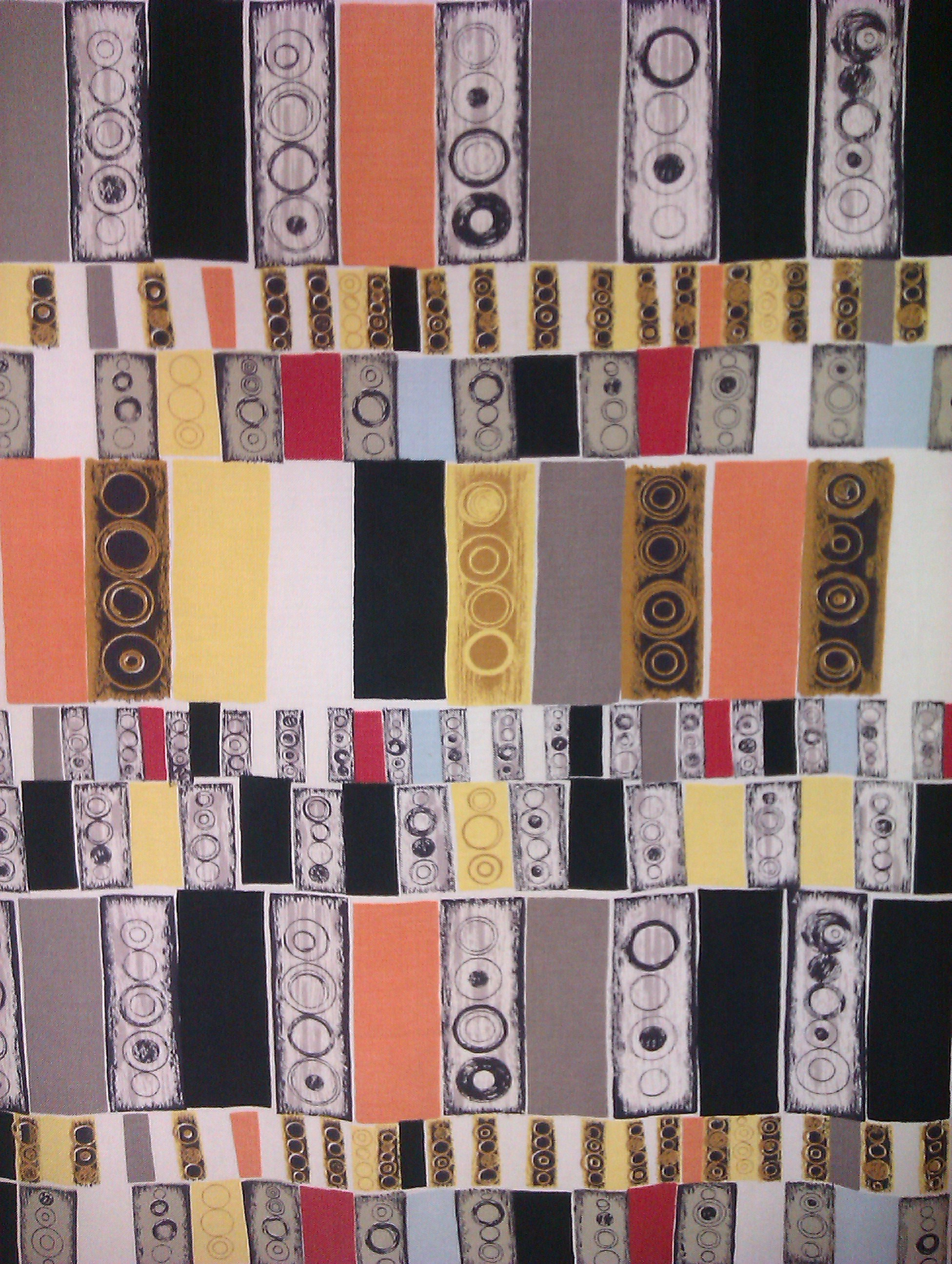 Jacqueline Groag, Traffic Lights, c. 1952 On display at Fashion an Textile Museum (photo: Ruth Clifford)