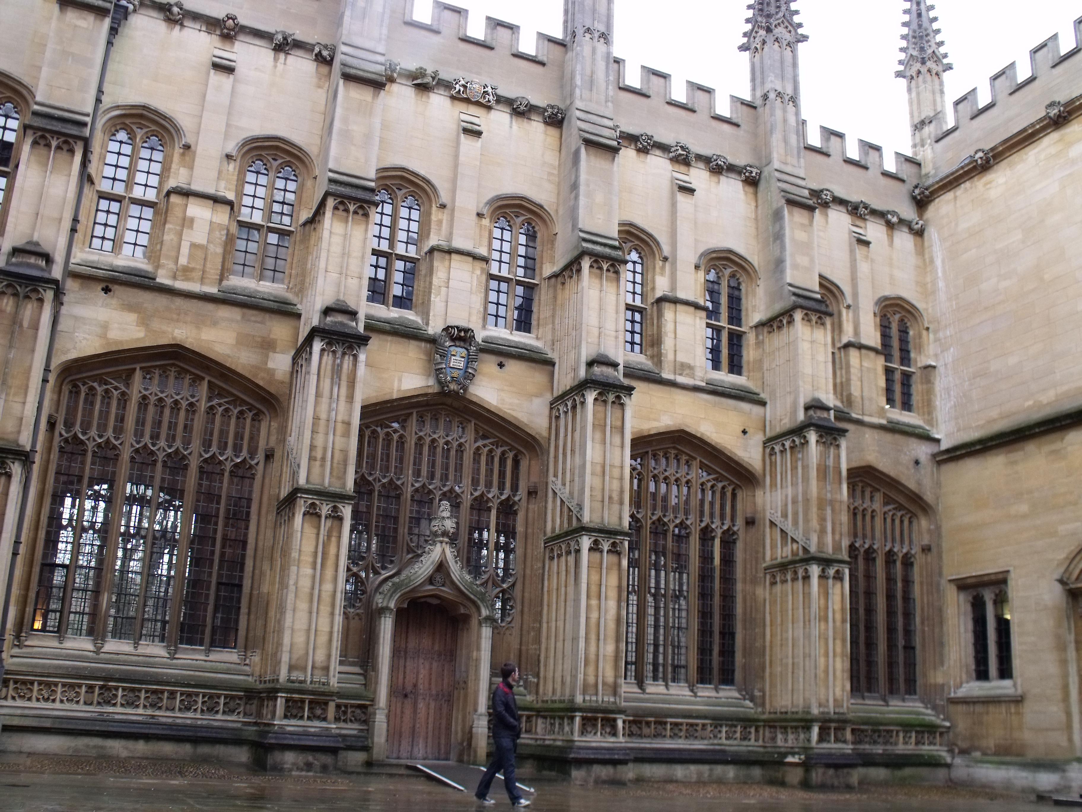 The University of Oxford's magnificent Bodleian Library buildings