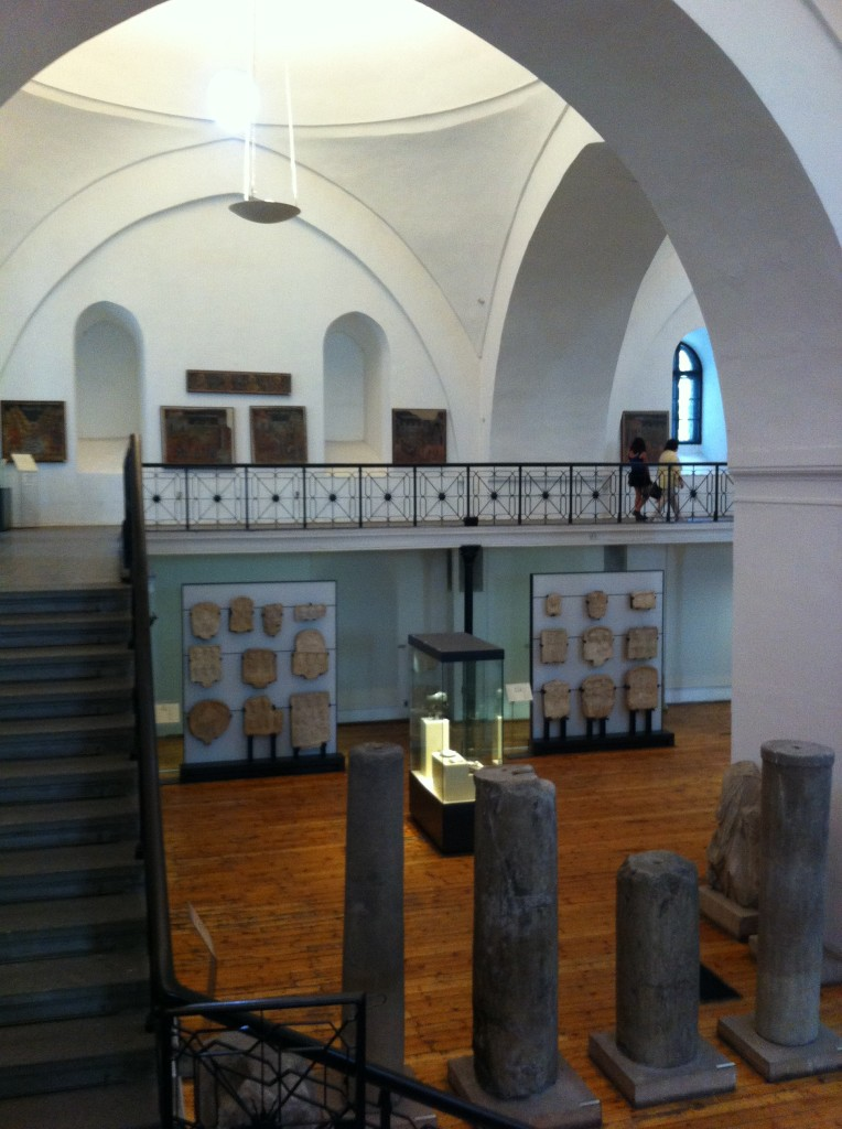 The archaeological museum in Sofia.