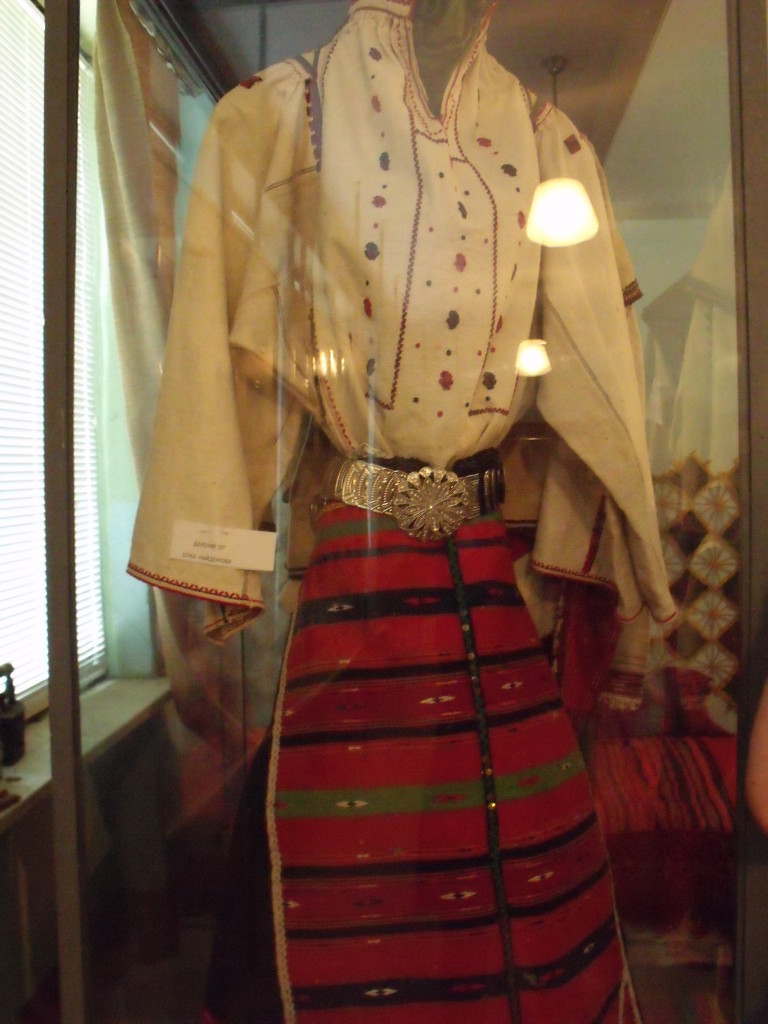 Traditional Bulgarian dress