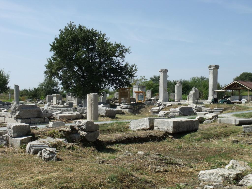 Roman town Nicopolis ad Istrum