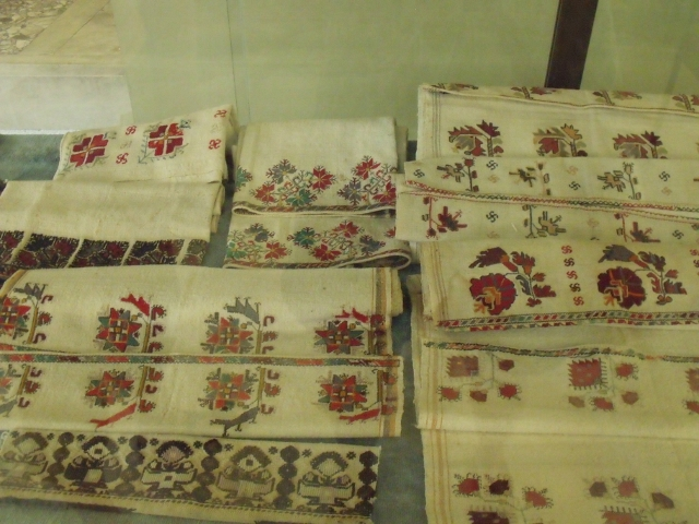 Ottoman textiles in the history museum in Kazanlak