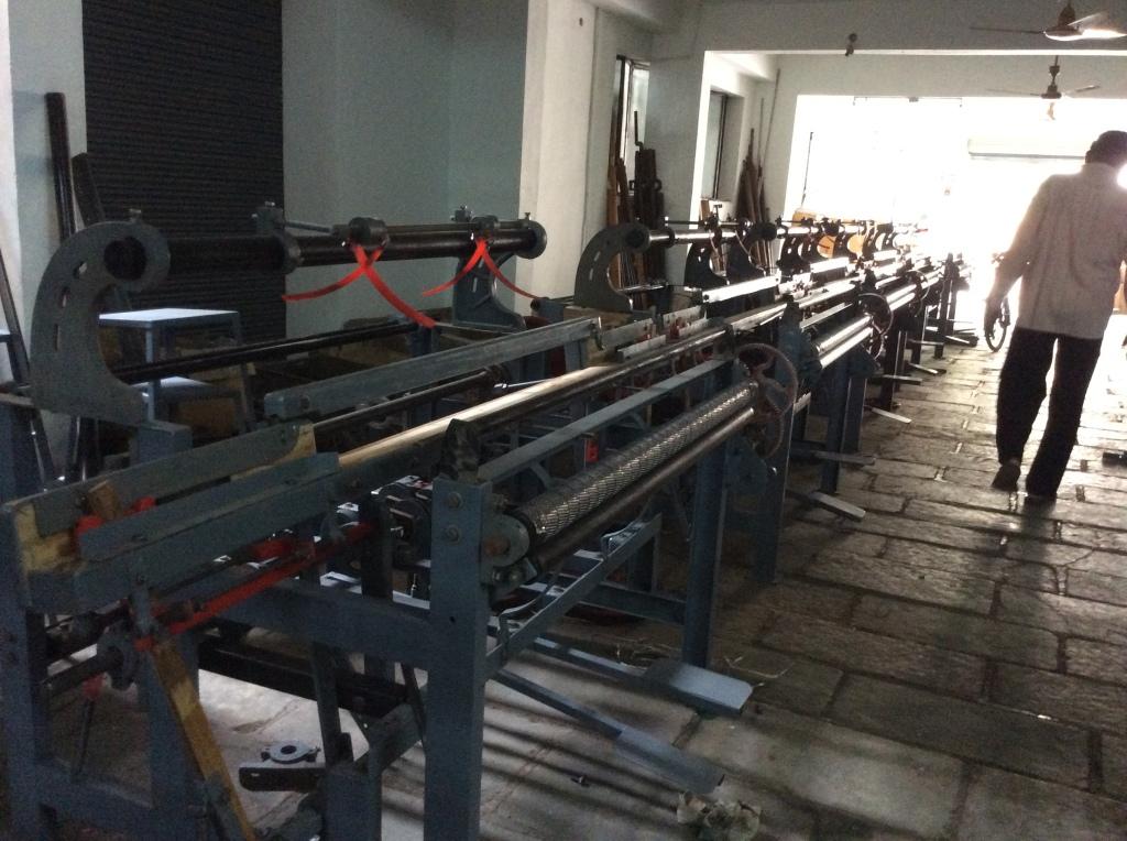 Incomplete loom frames