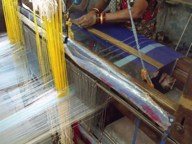 Textiles in Depth: Handloom Weaving in India, part four  End