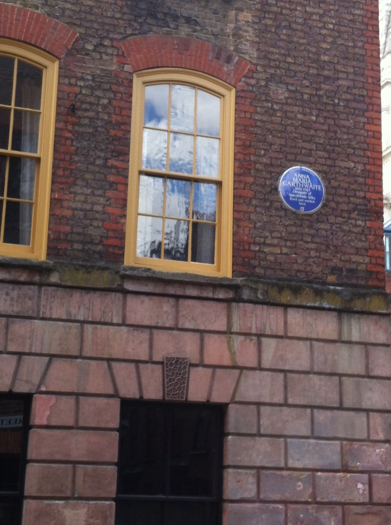The house where Anna Maria Garthwaite lived