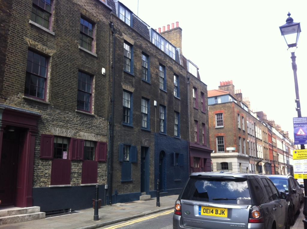 Master Weavers' houses on Fournier Street