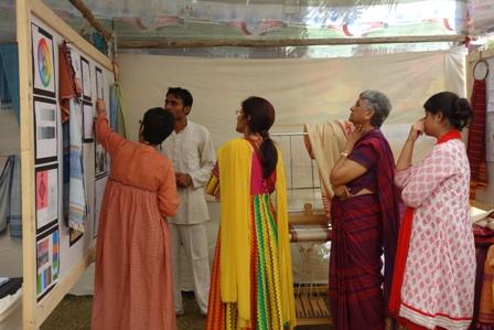 The jury looking through Pravin's development work