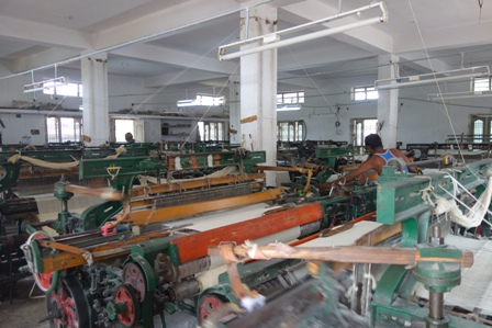 vietnam polyester weaving factory