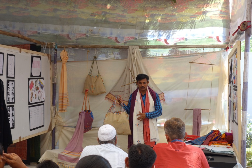 Ravji's presentation to the students' families