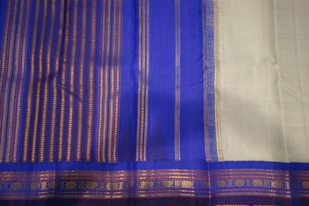 A traditional Kanchipuram sari
