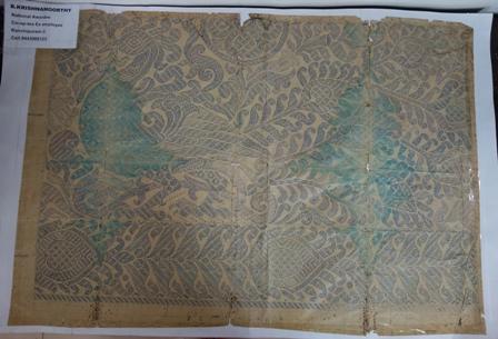The layout of the design that won Sri Krishnamoorthy the National Award
