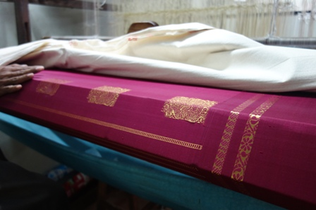 Sri Krishamoorthy's loom